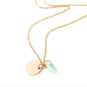 Jewelry - Dainty Gold Charm Choker Necklace Gold